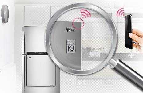 Trang bị hệ thống Đèn LED hiện đại với tủ lạnh Inverter GR-L502SD