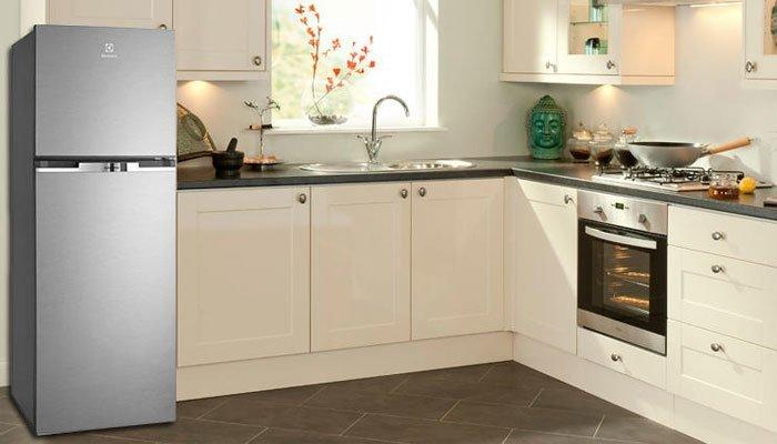 Thiết kế tinh tế và sang trọng của tủ lạnh Electrolux làm nổi bật không gian sống của gia đình bạn
