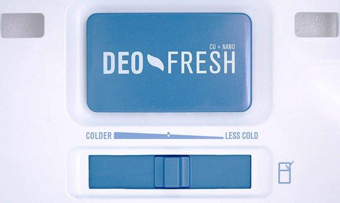 Công nghệ kháng khuẩn và khử mùi Deo Fresh tiên tiến nhất hiện nay được sử dụng trên các dòng tủ lạnh của Electrolux