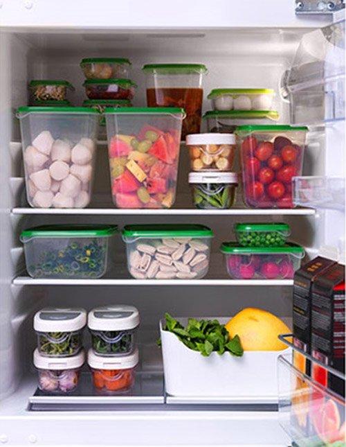 Sơ chế thực phẩm trước khi cho vào tủ lạnh giúp hiệu quả bảo quản được lâu hơn.