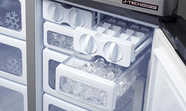 Tủ lạnh cần có khoảng thời gian nhất định để làm đông đá