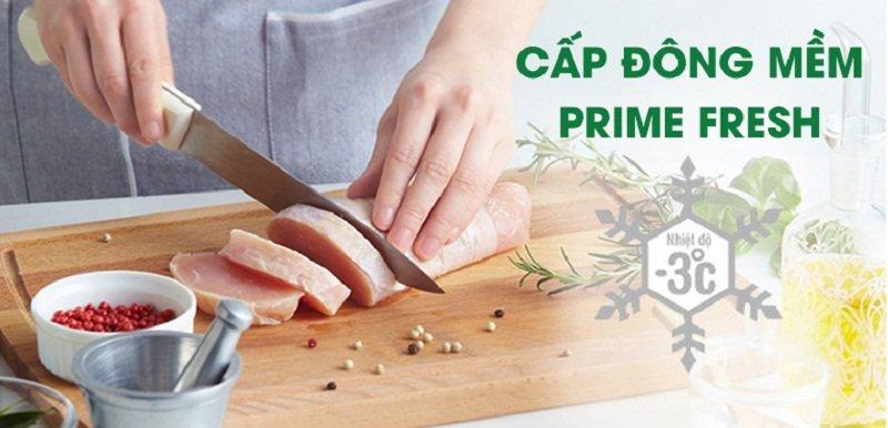 Tiện lợi hơn với ngăn chứa Frime Fresh của tủ lạnh Inverter 491 lít RN-CY558GKVN