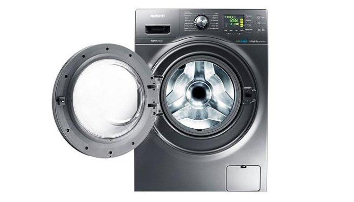 Máy giặt cửa trước với kiểu dáng hiện đại, sang trọng, máy giặt cửa trước là gì