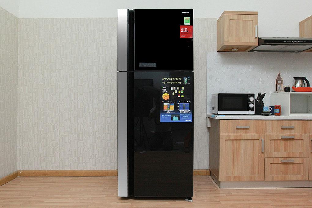 Tủ lạnh Hitachi R-VG540PGV3 mang đến vẻ sang trọng cho không gian nội thất