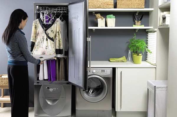 Quần áo sau kh sấy sẽ dễ ủi phẳng hơn.