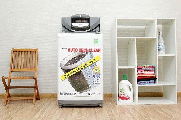Thiết kế hiện đại, kiểu dáng sang trọng là một trong những yếu tố cho biết máy giặt hitachi có tốt không