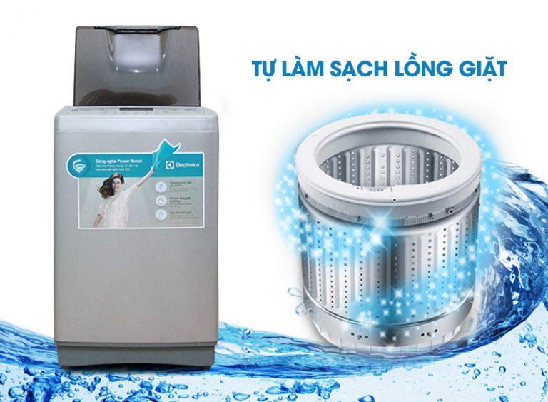 Máy giặt Electrolux tích hợp tính năng tự động làm sạch lồng giặt