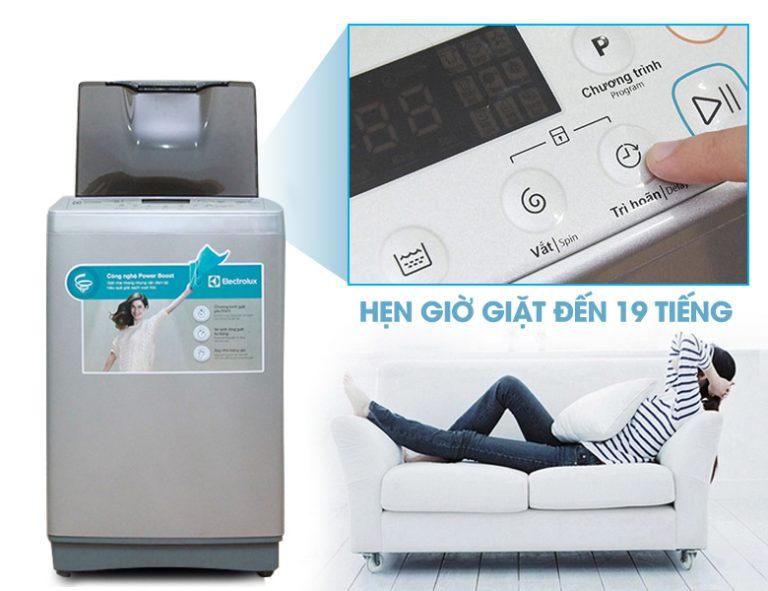 Máy giặt Electrolux có tính năng hẹn giờ