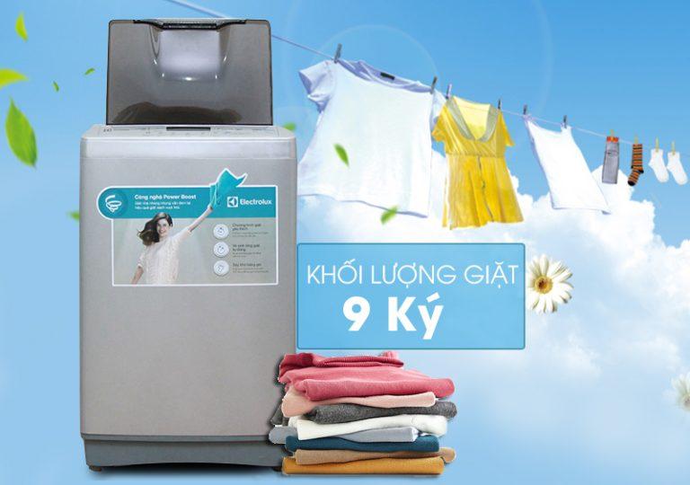 Máy giặt Electrolux có khối lượng giặt thoải mái