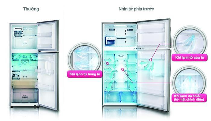 Tủ lạnh Electrolux trang bị công nghệ làm lạnh đa chiều