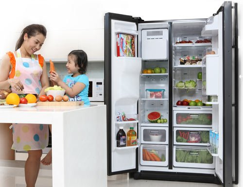 Tủ lạnh Hitachi giúp mang đến vẻ đẹp hiện đại, phong cách cho ngôi nhà của bạn