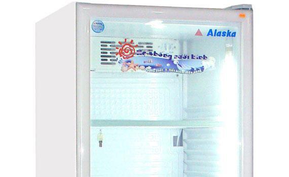 Tủ mát Alaska LC-643DB 350 lít có hệ thống sưởi kính