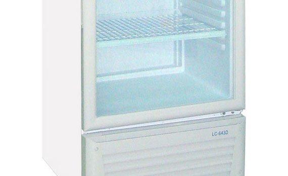 Lòng tủ mát bằng nhựa rất bền và cách nhiệt tốt