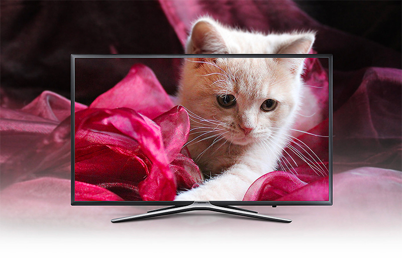 Smart Tivi Samsung 55 inch UA55M5503 sở hữu thiết kế mỏng, gọn thanh lịch
