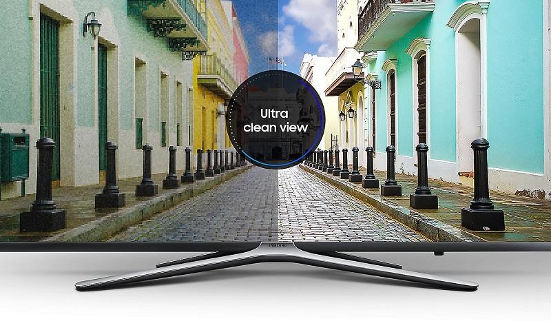 Công nghệ Ultra Clean View mang lại hình ảnh sắc nét, chân thực