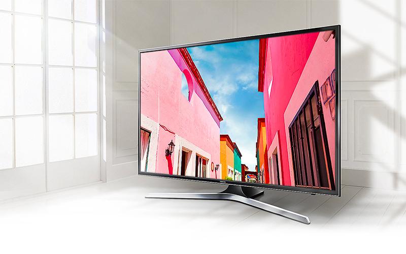 Thiết kế tinh tế, hiện đại với Smart tivi Samsung UA55MU6103