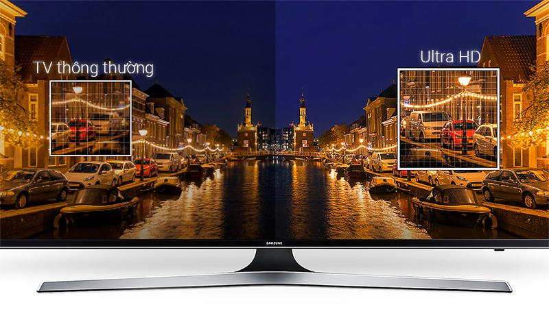 Sắc nét đến từng chi tiết với tivi Samsung 49MU6103