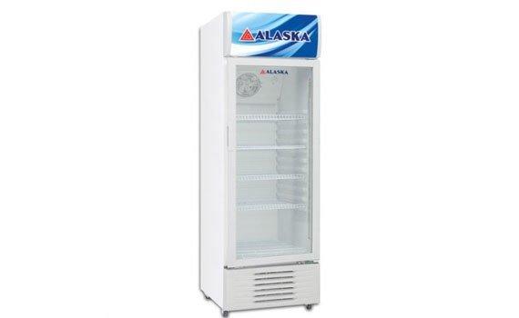 Tủ lạnh Alaska LC-533H thiết kế gọn gàng, tinh tế
