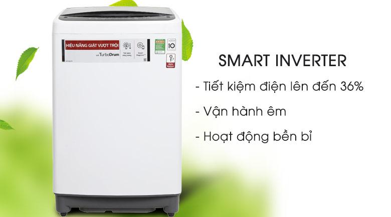 Smart Inverter - Máy giặt LG Inverter 8.5 kg T2385VS2W