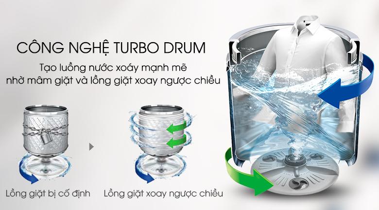 Turbo Drum - Máy giặt LG Inverter 8.5 kg T2385VS2W