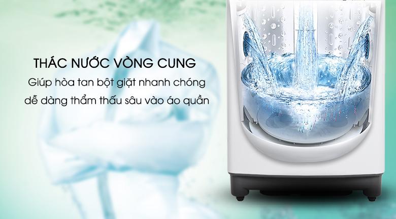 Thác nước - Máy giặt LG Inverter 8.5 kg T2385VS2W