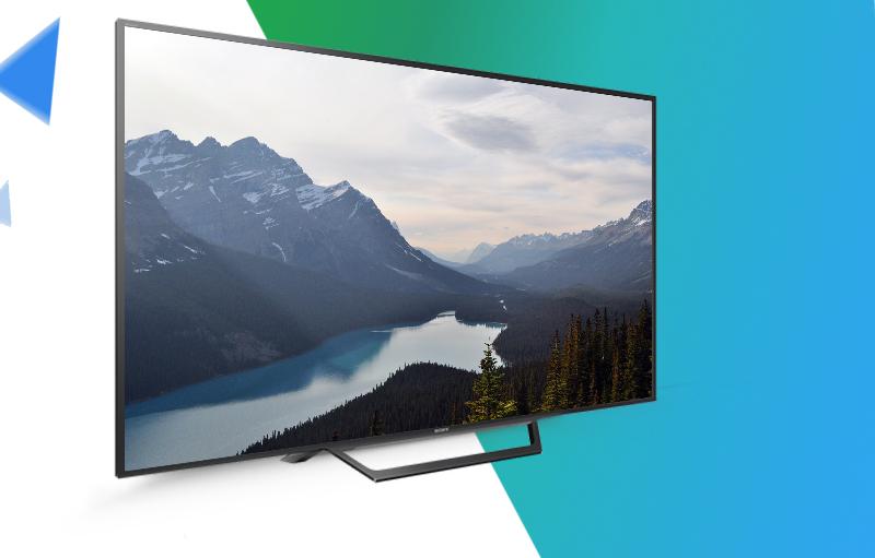 Tivi Sony 32W600D kích cỡ gọn nhẹ, kiểu dáng sang trọng, tinh tế