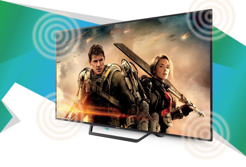 Tivi Sony 32W600D với âm thanh đa chiều sôi động