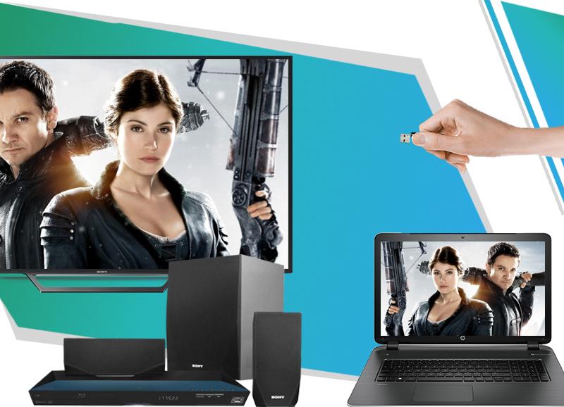 Tivi Sony 32W600D cho phép kết nối tivi với USB, loa, đầu đĩa, máy tính...