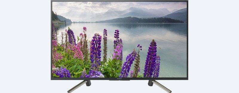 Smart Tivi Sony 43 inch KDL-43W800F sở hữu thiết kế tinh tế, hiện đại