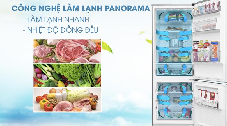 Hệ thống làm lạnh đa chiều - Tủ lạnh Panasonic Inverter 290 lít NR-BV329XSVN