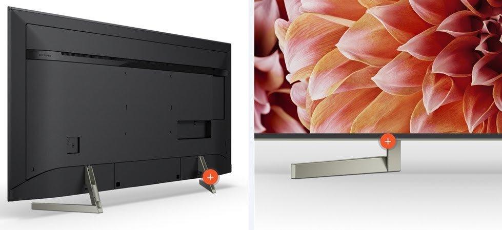 Android tivi sony 55 inch KD-55X9000F sở hữu thiết kế sang trọng, tinh tế