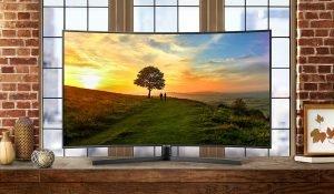 Smart Tivi Samsung 49 inch UA49NU7500KXXV có thiết kế mỏng với độ cong hoàn hảo