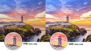 Độ phân giải UHD 4K mang đến hình ảnh vô cùng sắc nét cho Smart Tivi Samsung 55 INCH UA55NU7300KXXV