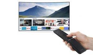 Smart tivi Samsung 55 Inch UA55NU7500KXXV với kho giải trí và tiện ích mở rộng