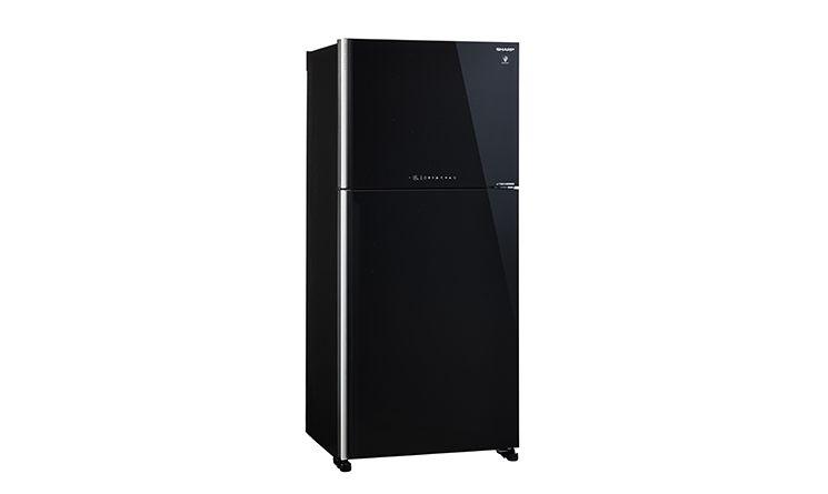 Tủ lạnh Sharp Inverter 510 lít SJ-XP555PG-BK sở hữu thiết kế sang trọng