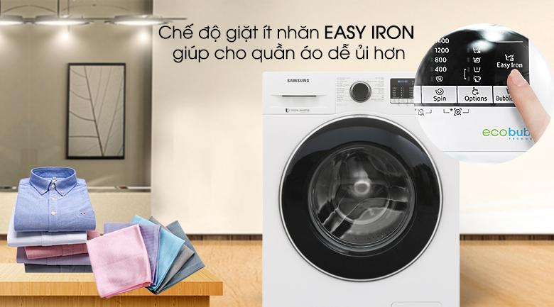 Chế độ Easy iron - Máy giặt Samsung Inverter 9 kg WW90J54E0BW/SV