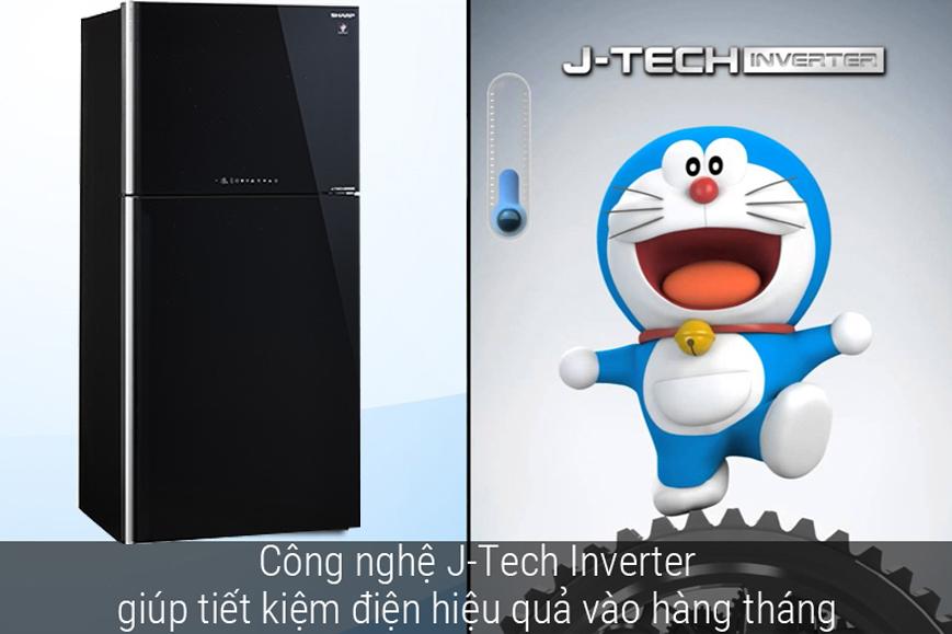 Jtech Inverter làm lạnh hiệu quả và tiết kiệm điện