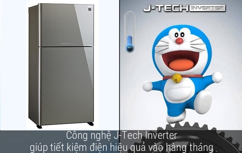 36 cấp độ làm lạnh của công nghệ J-Tech Inverter cho khả năng làm lạnh ổn định, bền bỉ
