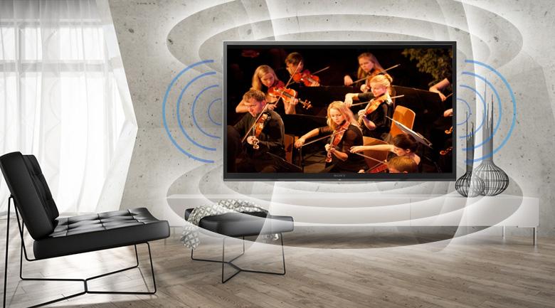 Công nghệ ClearAudio+ trên Smart Tivi Sony 32 inch KDL-32W610F