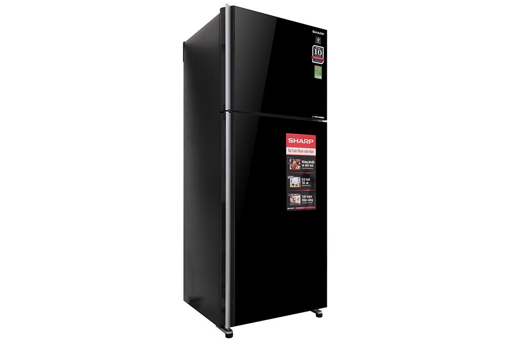 Tủ lạnh Sharp Inverter 364 lít SJ-XP405PG-BK – Thiết kế mặt gương sang trọng
