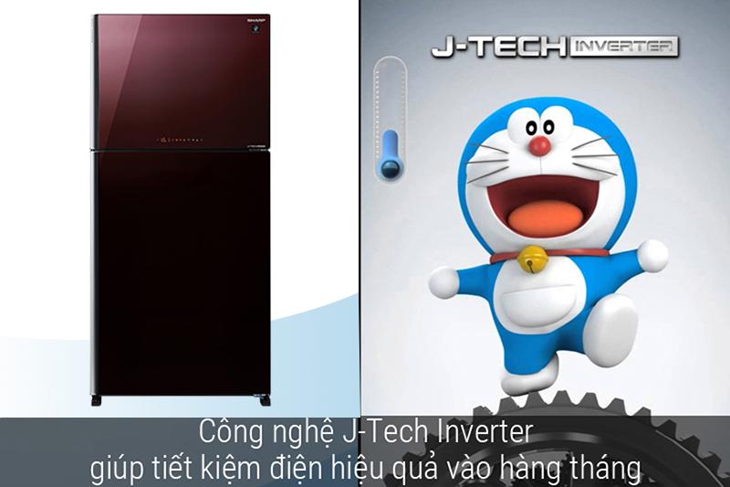 Tiết kiệm điện hơn với công nghệ Jtech Inverter