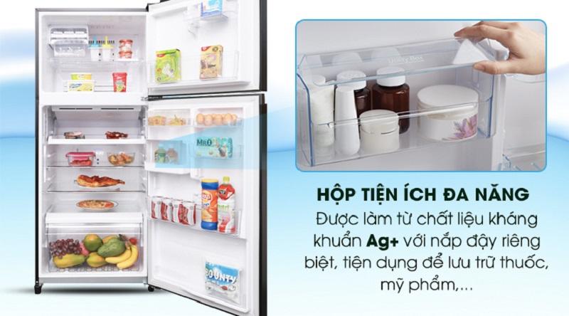 Trang bị hộp chứa tiện dụng đa năng - Tủ lạnh Toshiba Inverter 359 lít GR-AG41VPDZ XK1