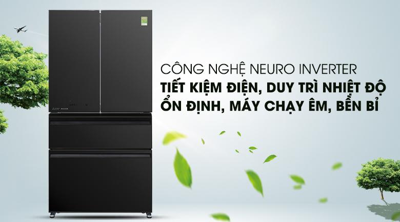 Neuro Inverter - Tủ lạnh Mitsubishi Electric Inverter 564 lít MR-LX68EM-GBK-V