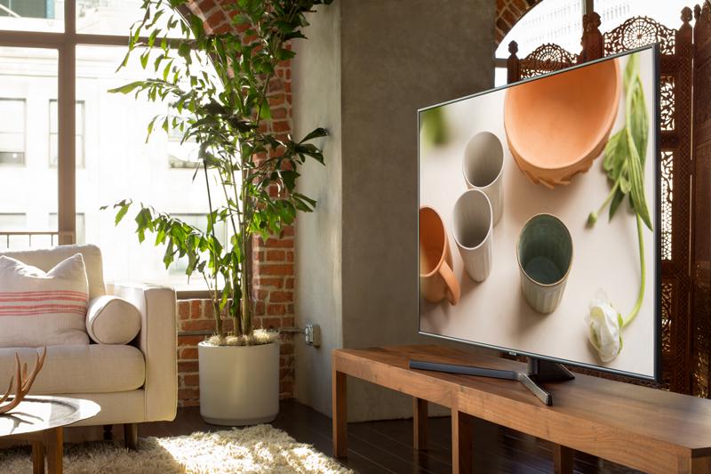 Thiết kế hiện đại sang trọng Tivi Samsung 4K 50 inch UA50NU7400