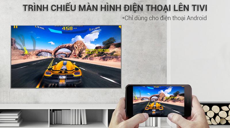Chiếu màn hình điện thoại lên tivi Tivi Samsung 4K 50 inch UA50NU7400