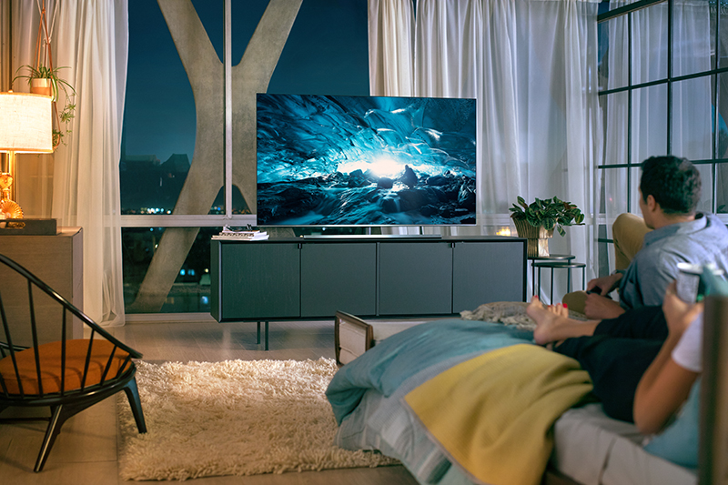 Tổng quan thiết kế Smart Tivi Samsung 4K 65 inch UA65NU8000