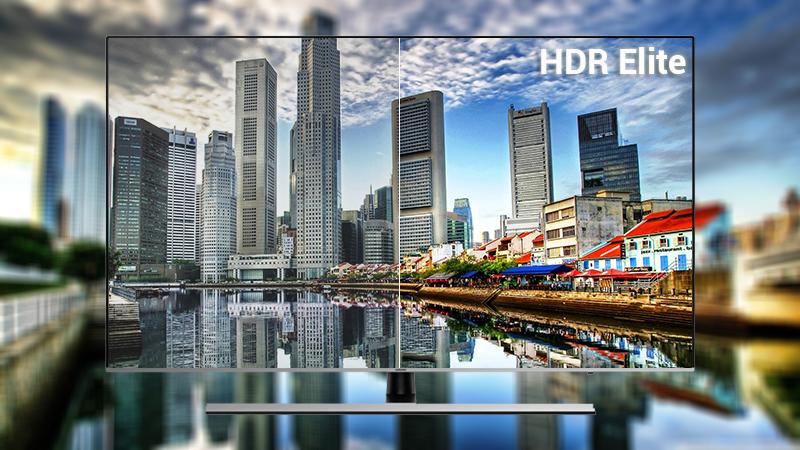 Công nghệ HDR Elite trên Smart Tivi Samsung 4K 65 inch UA65NU8000