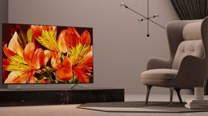 Android Tivi Sony KD-75X8500F sở hữu thiết kế đẳng cấp sang trọng