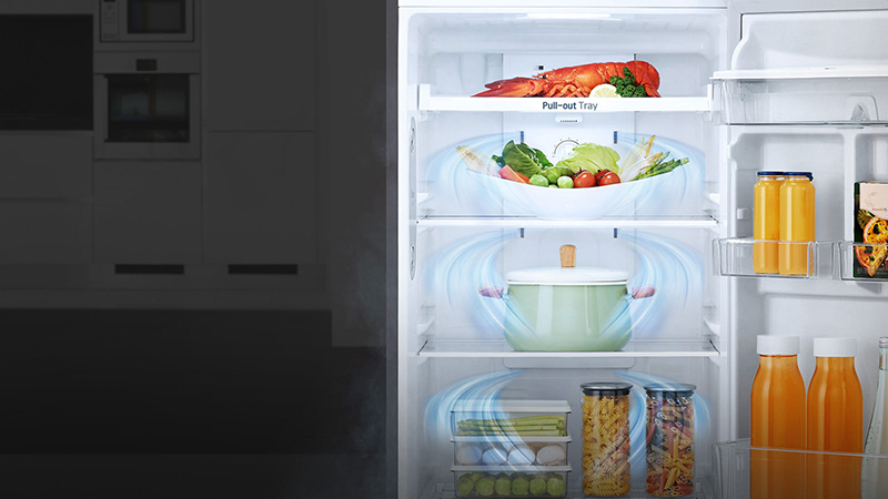 Hệ thống khí lạnh đa chiều cho hiệu quả làm lạnh đồng đều