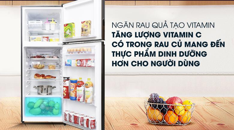 Ngăn rau củ tạo vitamin qua quang hợp - Tủ lạnh Mitsubishi Electric Inverter 231 lít MR-FV28EM-BR-V